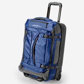 Expedition Drop Bottom Rolling Duffel - Medium in Blue