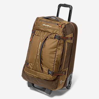 Expedition Drop Bottom Rolling Duffel - Medium in Brown