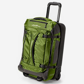 Expedition Drop Bottom Rolling Duffel - Medium in Green