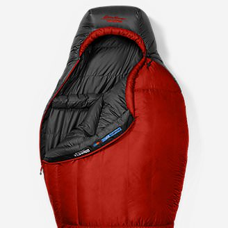 Kara Koram 20º StormDown Sleeping Bag in Red