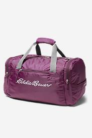 Stowaway 40L Packable Duffel in Purple