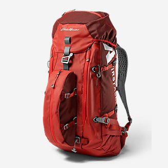 Sisu 40L Pack in Red