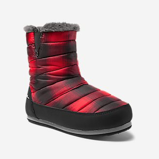 Eddie Bauer Camp Bootie in Red
