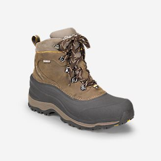 Men's Eddie Bauer Snowfoil Boot in Brown