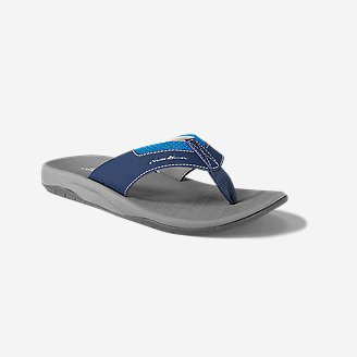 Men's Eddie Bauer Break Point Flip Flop in Blue
