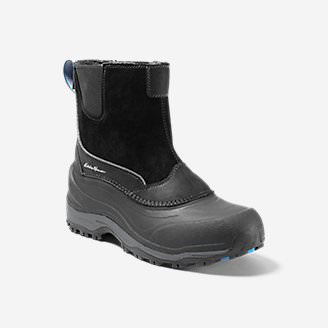 Men's Eddie Bauer Snowfoil Pull-On Boot in Black