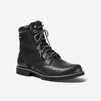 Eddie Bauer Severson Plain Toe in Black
