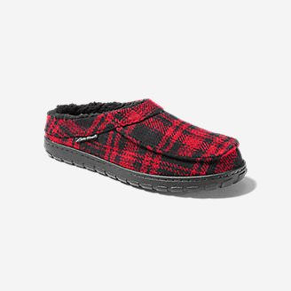 Men's Eddie Bauer Yurt Slipper in Red