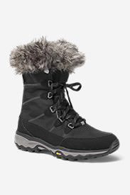 Women's Eddie Bauer Solstice Mid Boot in Black