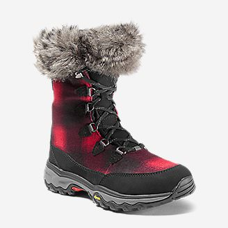 Women's Eddie Bauer Solstice Mid Boot in Red