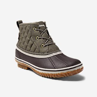 Women's Hunt Pac Mid Boot - Fabric in Green