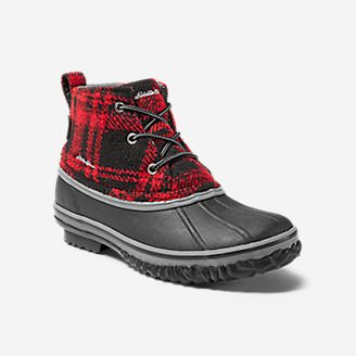 Women's Hunt Pac Mid Boot - Fabric in Red