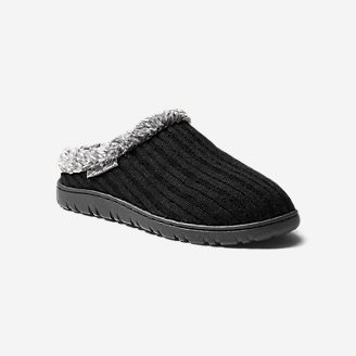 Women's Yurt Moc Slipper in Black