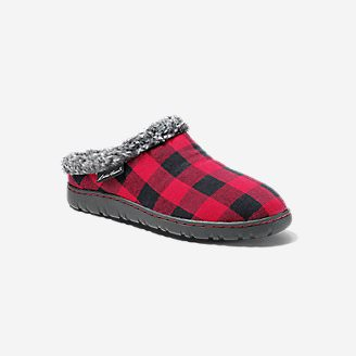 Women's Yurt Moc Slipper in Red