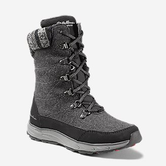 Women's Laurel Lace Boot in Gray