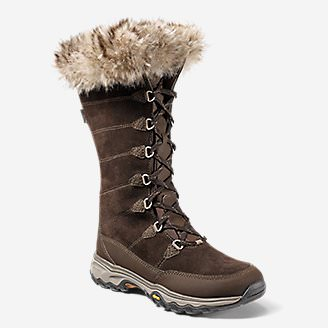 Women's Solstice 2.0 Leather Boot in Brown