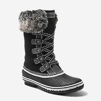 Women's Hunt Pac Deluxe Boot in Black