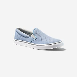 Women's Haller Leather Slip-On in Blue