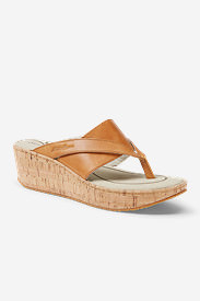 Women's Eddie Bauer Kara Slide in Beige