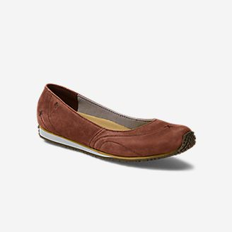 Women's Eddie Bauer Stine Ballet in Brown