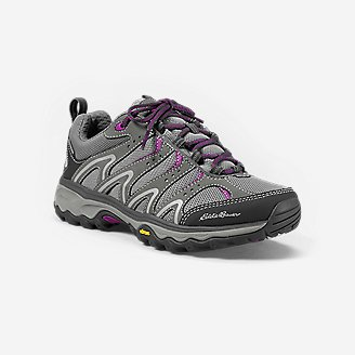 Women's Eddie Bauer Lukla Pro Waterproof Lightweight Hiker in Gray