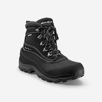 Women's Eddie Bauer Snowfoil Boot in Black