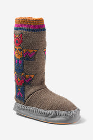 Women's Slope Side Lounge Boot in Brown