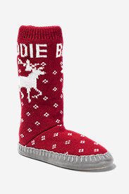 Women's Slope Side Lounge Boot in Red