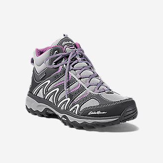 Women's Eddie Bauer Lukla Pro Mid Hiker in Gray
