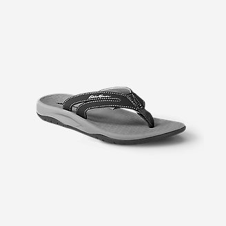 Women's Eddie Bauer Break Point Flip Flop in Black