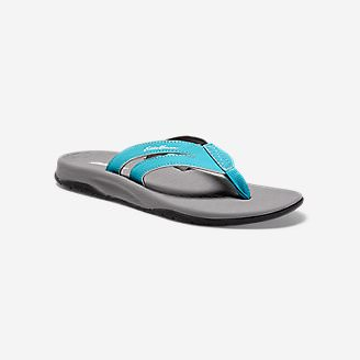 Women's Eddie Bauer Break Point Flip Flop in Blue