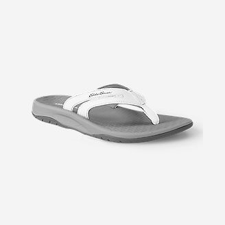 Women's Eddie Bauer Break Point Flip Flop in White