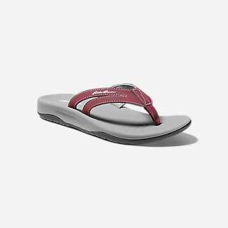 Women's Eddie Bauer Break Point Flip Flop in Green