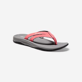 Women's Eddie Bauer Break Point Flip Flop in Red