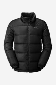 Men's Classic Down Jacket in Black