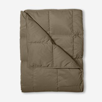 Down Throw - Solid in Beige