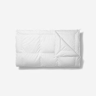 Rainier Medium Down Comforter in White