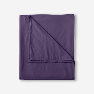 Flannel Duvet Cover - Solid in Purple