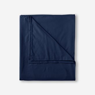 Flannel Duvet Cover - Solid in Blue