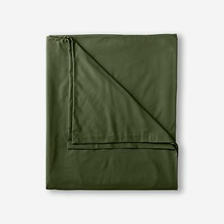 Flannel Duvet Cover - Solid in Green