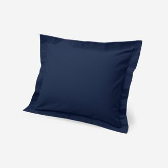 Flannel Pillow Sham - Solid in Blue