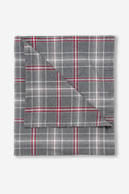 Flannel Duvet Cover - Pattern in Gray