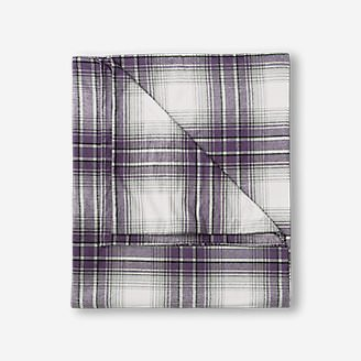 Flannel Duvet Cover - Pattern in Purple