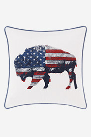 Bison American Pillow in Multi