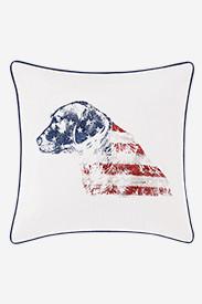 Labrador American Pillow in Multi