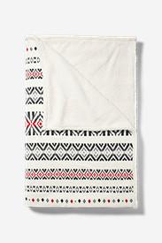 Cabin Fleece Blanket in White