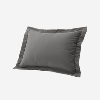 Cascade Pillow Sham in Gray