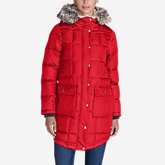 Women's Ilaria Kara Koram II Parka in Red
