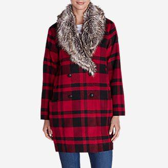 Women's Ilaria June Coat in Red