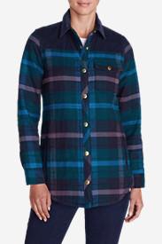 Women's Ilaria Runion Shirt Jacket in Blue